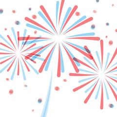 4th July: American fireworks