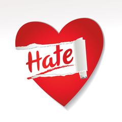 haine et divorce en Amour