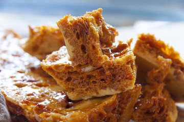 Baked Honeycomb