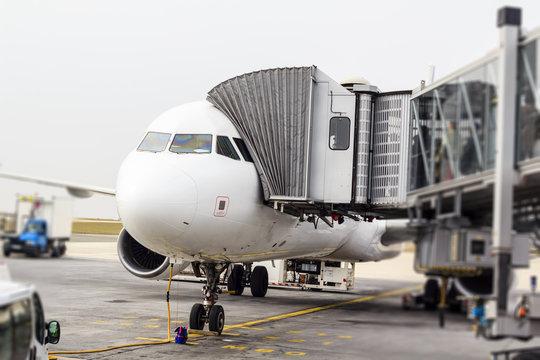 Airplane, Charles de Galle airport, Paris