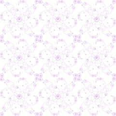 seamless bubble dots pattern