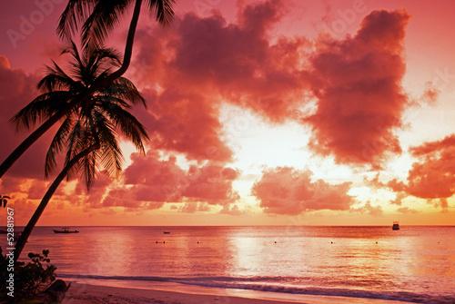 Pigeon Point at Sunset, Tobago  № 1471882 бесплатно