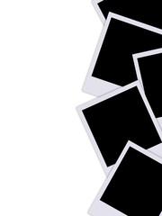 Moldura vertical - Fotografias instantâneas