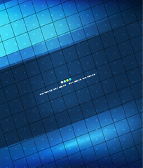 Glue geometry lines background