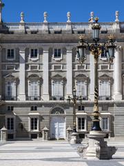 Royal palace at Madrid, Spain