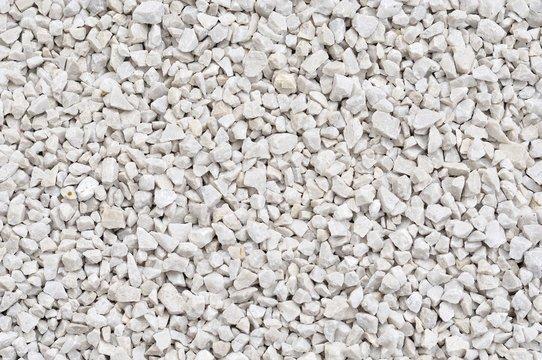 Background of white rocks