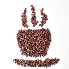 Coffee bean isolate
