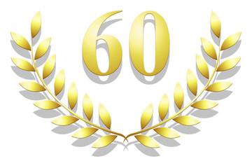 Lauriers 60 en or