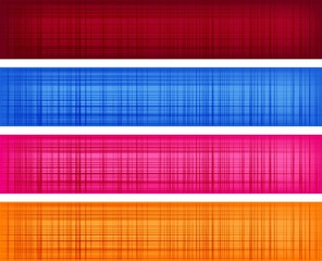 Textile textured banners