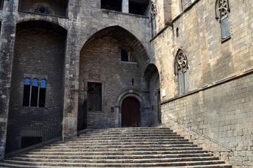 Escalinata de la Plaza del Rey