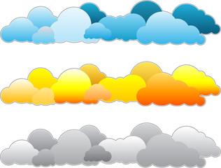 Hintergrund Wolken