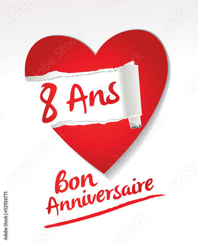 8 Ans Bon Anniversaire Stock Image And Royalty Free Vector Files