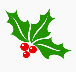 Holly berry symbol