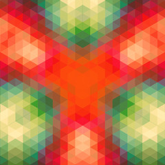 retro geometric pattern. vector optic effect texture