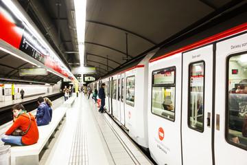 station Glories in Metro de Barcelona