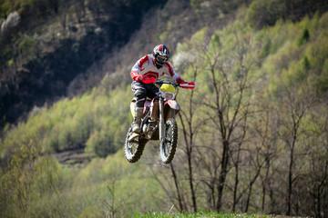 Fototapete - jump