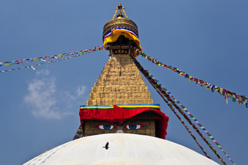 bodhnath temple in nepal