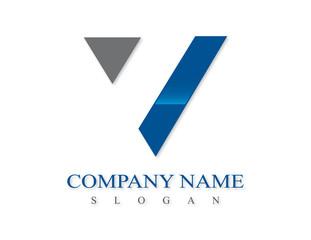 V logotype