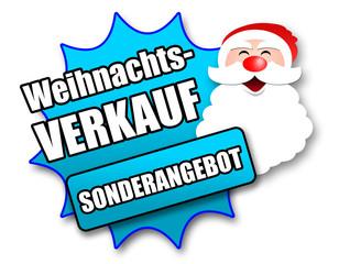 """Siegel """"Weihnachtsverkauf - Sonderangebot"""""""