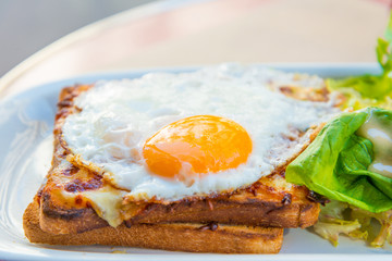 Traditional French Toasted Sandwich