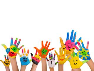 smiley hands