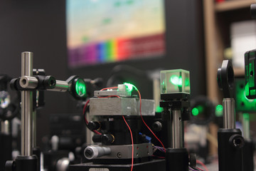 laser scientific optical system for research