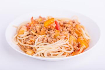 And spaghetti sauce