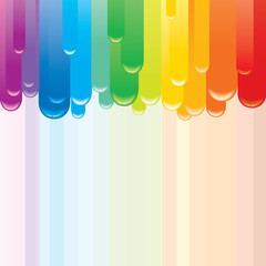 Fond de hotte en verre imprimé Carnaval Abstract Rainbow Background.