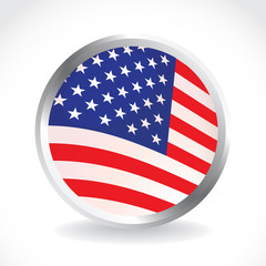 USA Flag - illustration