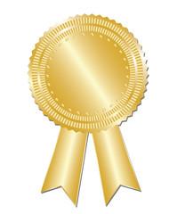 Gold  blank award