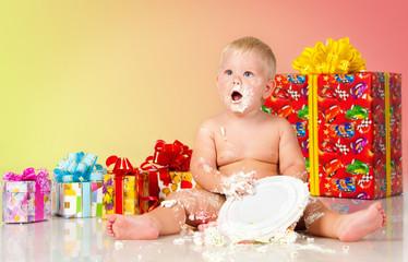 Birthday of a little boy.