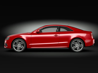 Wall Mural - Red Sport Car