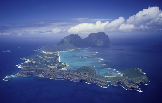 New South Wales Lord Howe Island aerial