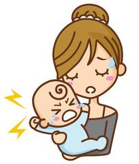 育児 母子