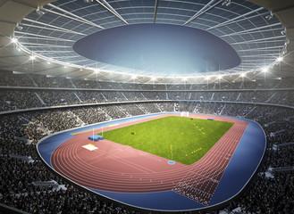 Wall Mural - Leichtathletik Stadion