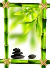 cornice bambù feng shui