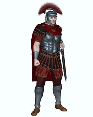 Roman Centurion with Transverse Crest