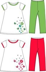 pattern for children fashion industry