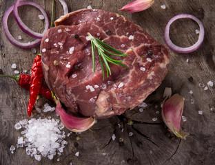 Premium Raw beef sirloin