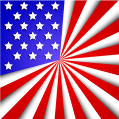 Vector usa flag background. Eps10