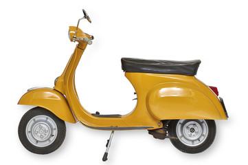 Canvas Prints Scooter Vintage vespa scooter