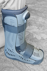 Compression boot or soft cast footwear