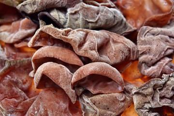 Ears mushrooms texture