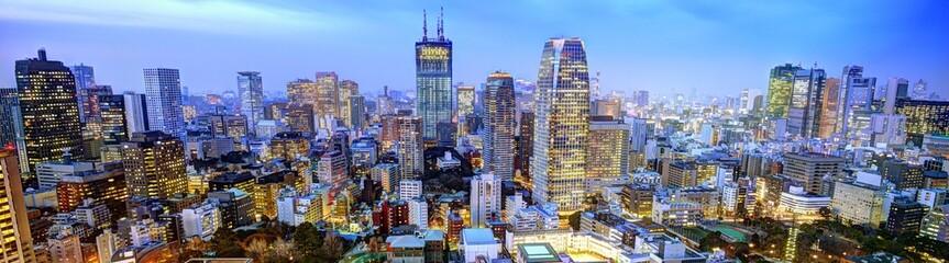 Foto op Aluminium Tokyo Panorama of Tokyo