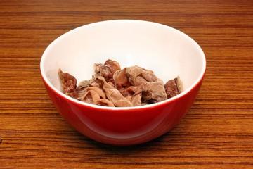 Ears fungus in a bowl