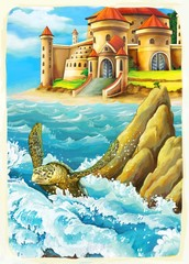 The mermaid- castles - knights and fairies