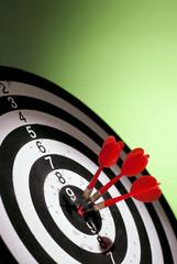 Wall Mural - darts arrows