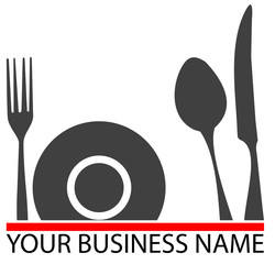 Logo restaurant,  restauration