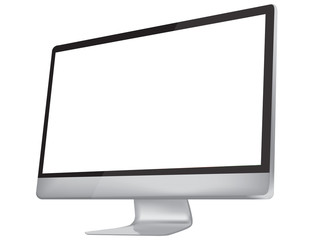 Desktop Computer, lcd Monitor, modern Display
