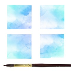Abstract water color paint background